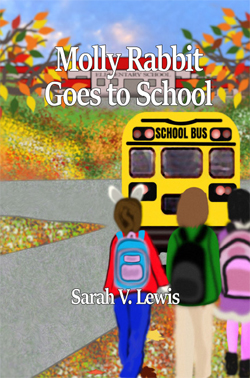 Molly Rabbit goes to school cover sm