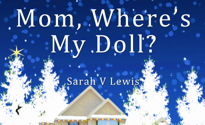 Mom Where's My Doll book cover front top half